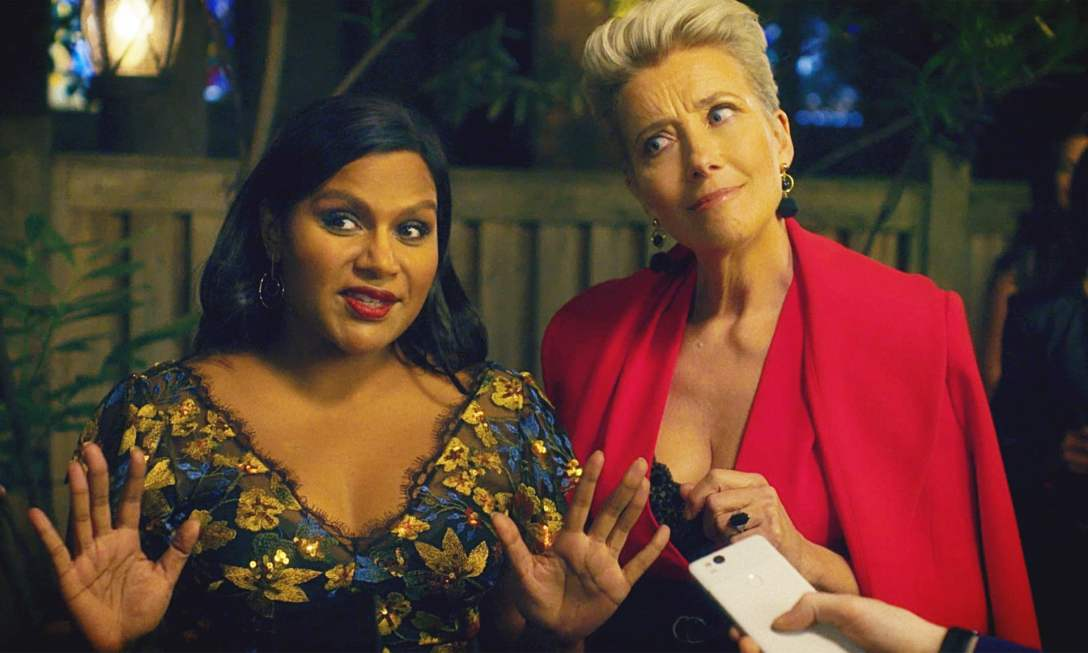 Mindy Kaling and Emma Thompson in 'Late Night.'